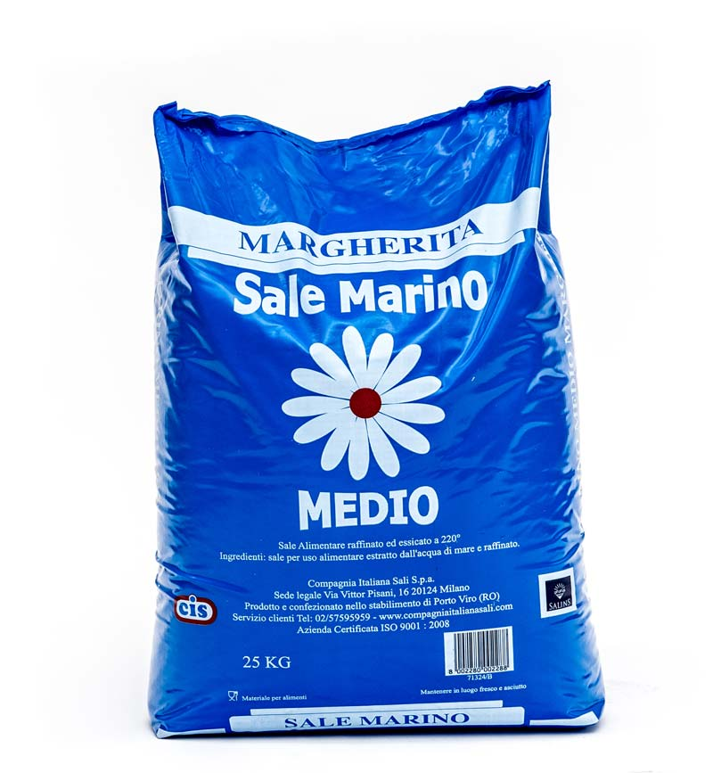 SALE ESSICCATO MEDIO MARGHERITA BLU CIS KG 25