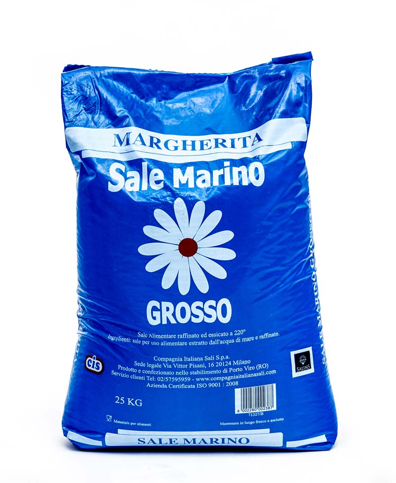SALE ESSICCATO GROSSO MARGHERITA BLU CIS KG 25
